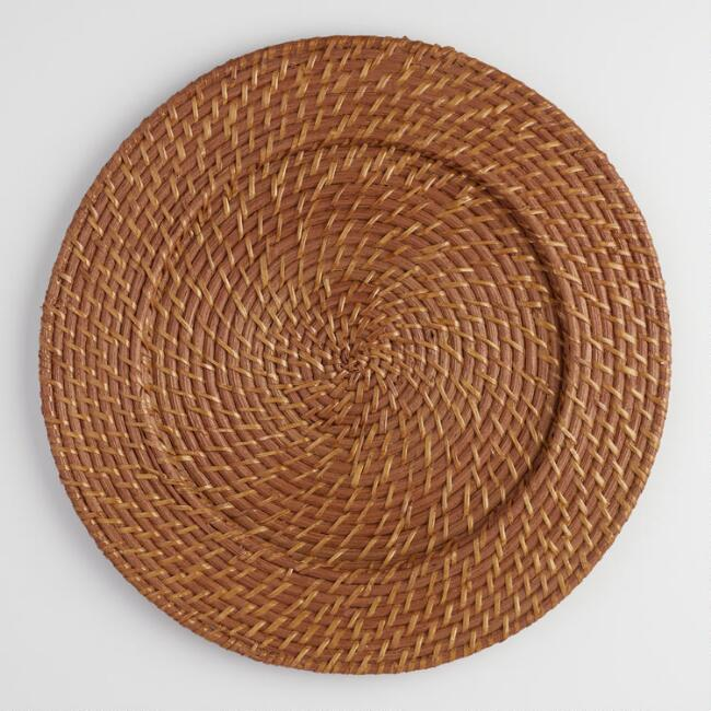 Rattan Charger Set Of 4