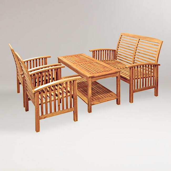 Hilo 4-Piece Outdoor Living Set