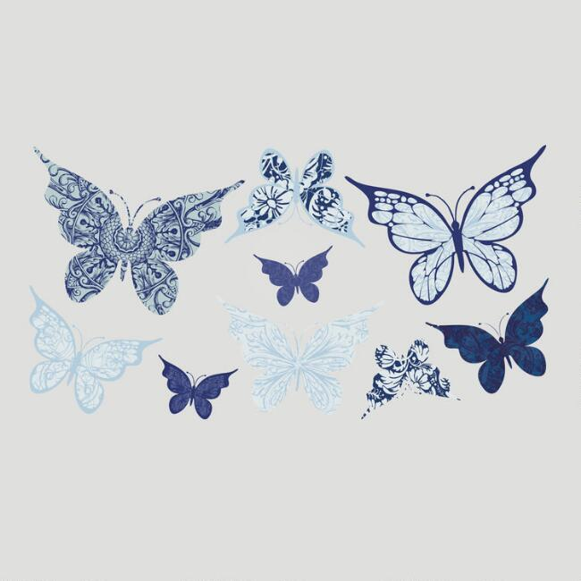 Boho Butterflies Vinyl Wall Decal