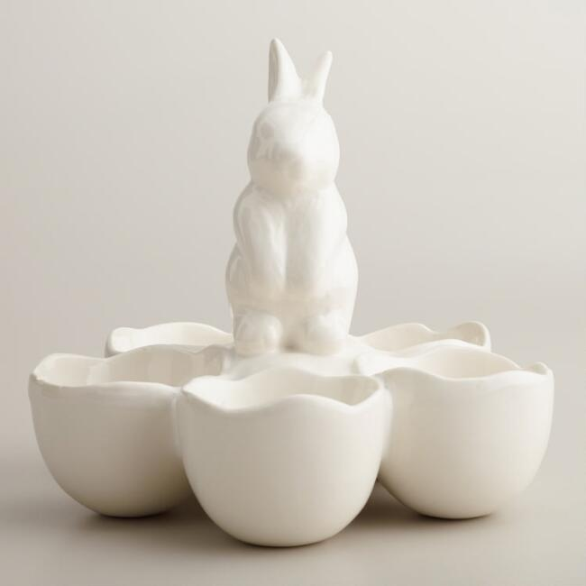 Bunny 5-Section Egg Holder
