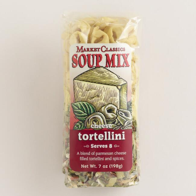 Market Classics® Cheese Tortellini Soup Mix, Set of 2
