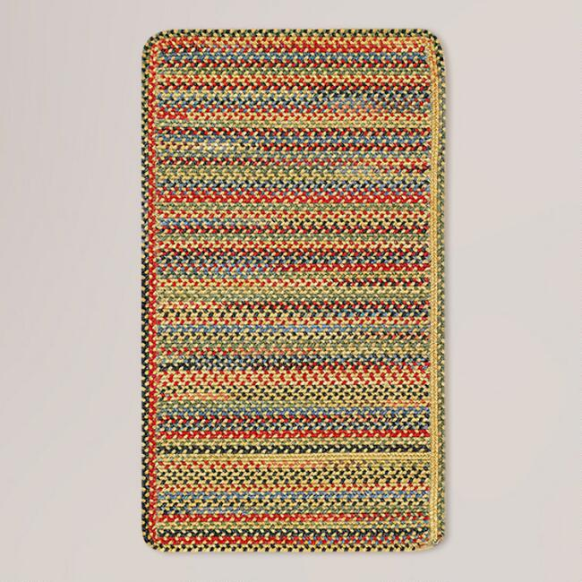 Goldfinch Striped Plymouth Braided Rug