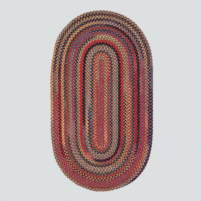 Cardinal Oval Plymouth Braided Rug