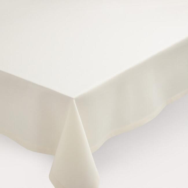 Ivory Buffet Tablecloth