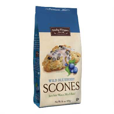 Sticky Fingers Wild Blueberry Scone Mix Set Of 6