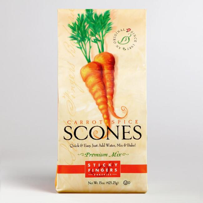 Sticky Fingers Carrot Spice Scone Mix Set Of 6