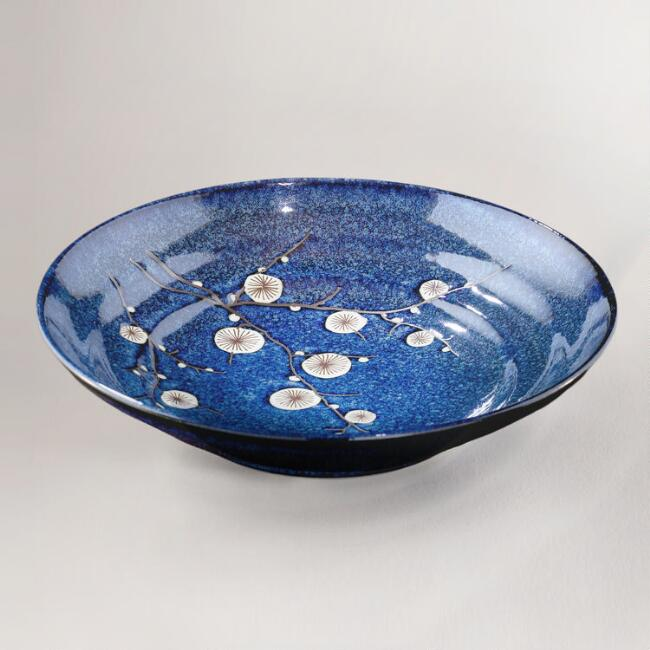 Cherry Blossom Serving Bowl