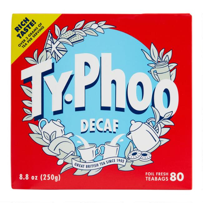 Typhoo Decaf Tea, 80-Count