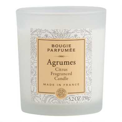 Citrus Bougie Parfumee Filled Jar Candle