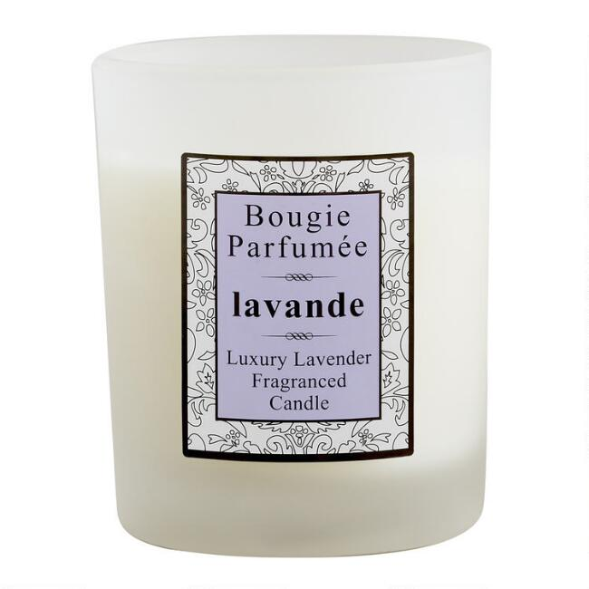 Lavender Bougie Parfumee Filled Jar Candle