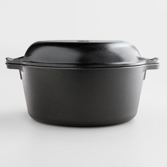 Lodge 5-Quart Double Dutch Oven