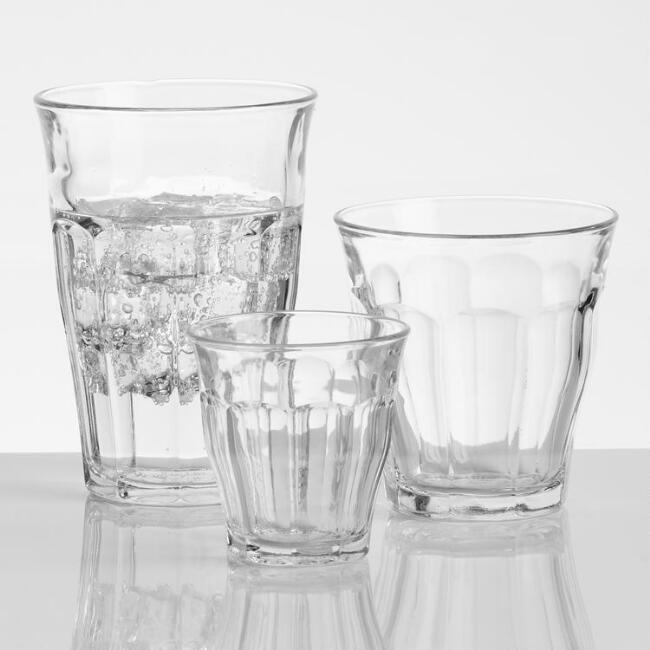 Tempered Duralex Picardie Glassware Collection