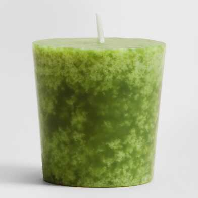 China Pear Votive Candles Set of 12