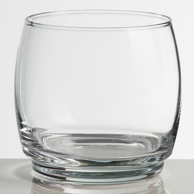 Stackable Double Old Fashioned Glasses Set of 4