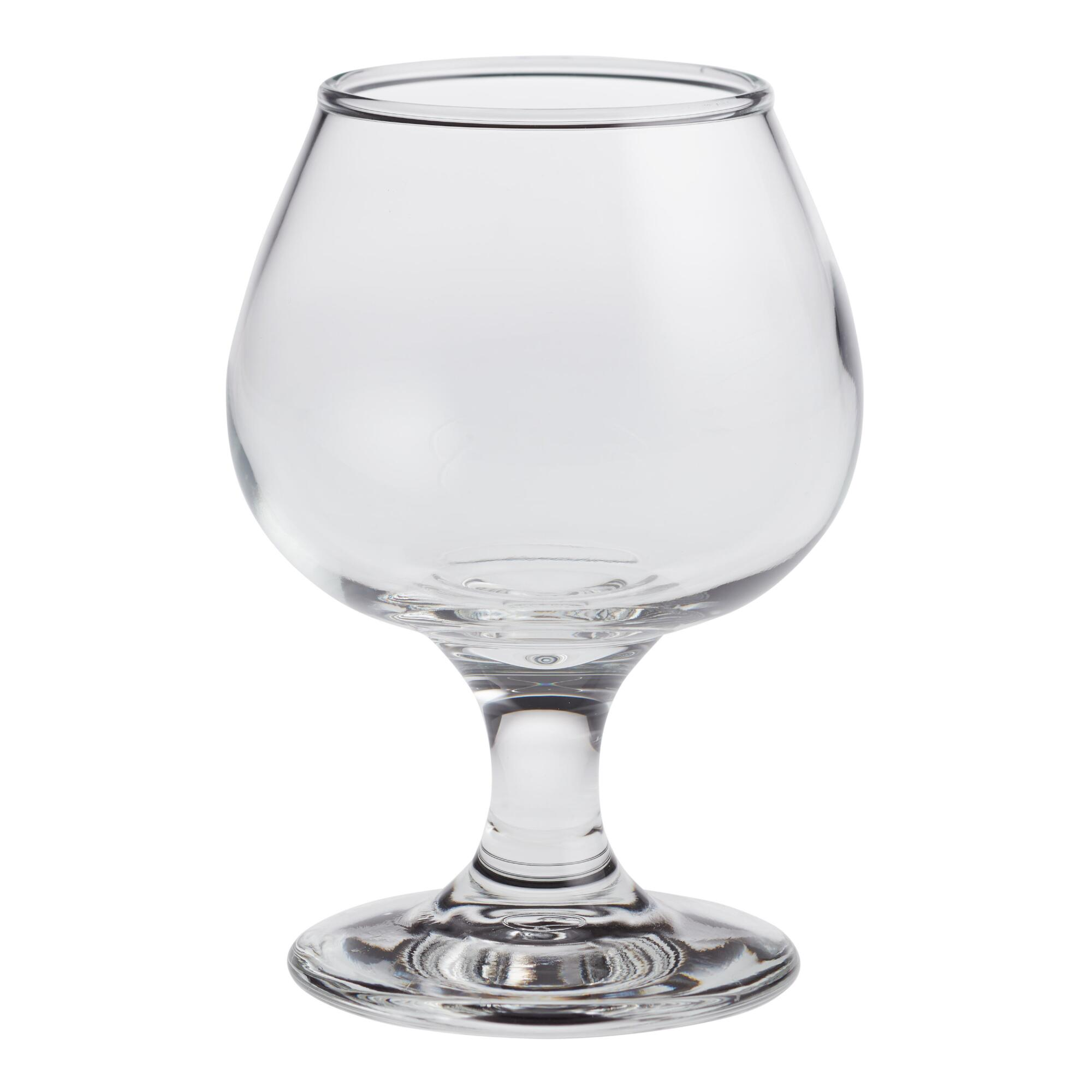 Small Brandy Glasses, Set of 4 by World Market