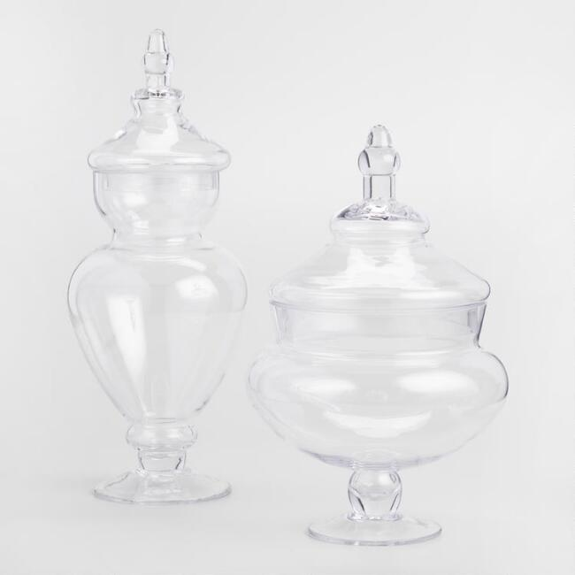 Round or Tall Apothecary Vases