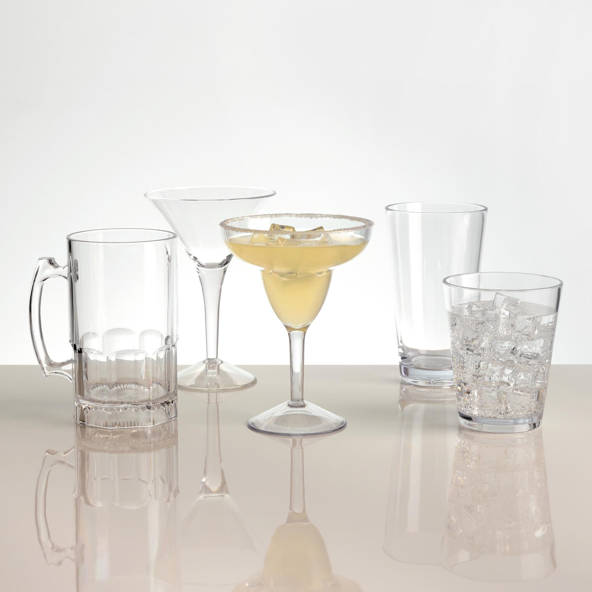 Acrylic Barware Collection by World Market
