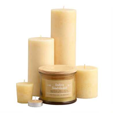 Indian Sandalwood Candle Collection
