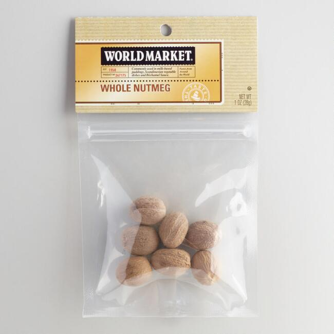 Whole Nutmeg World Market® Spice Bag