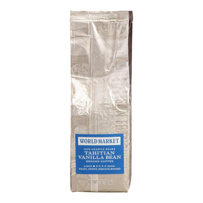2 Oz. World Market® Vanilla Bean Coffee Set Of 15