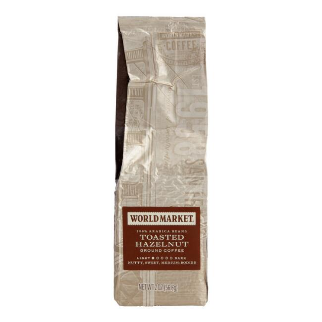 2 Oz. World Market® Toasted Hazelnut Ground Coffee Set Of 15