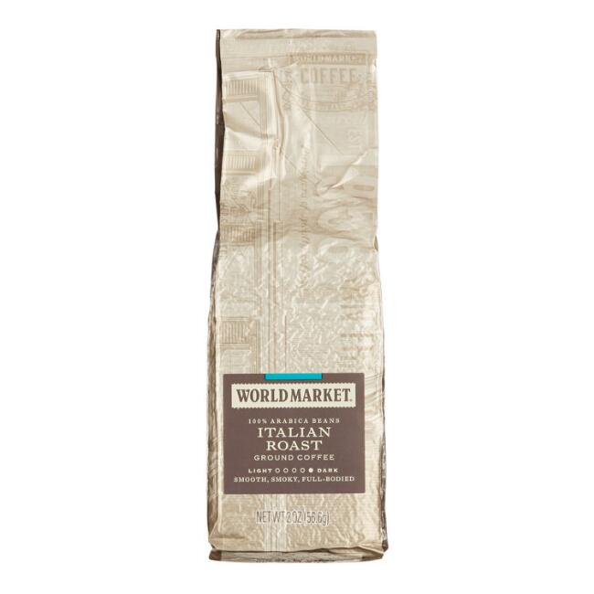 World Market® Italian Roast Coffee 2 oz., Set of 15