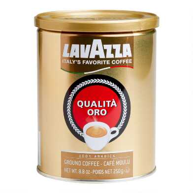 Lavazza Qualita Oro Gold Ground Coffee Set of 12