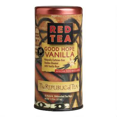 The Republic Of Tea Good Hope Vanilla Red Tea 36 Count