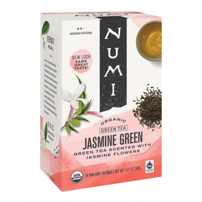 Numi Organic Jasmine Green Tea, Set of 6