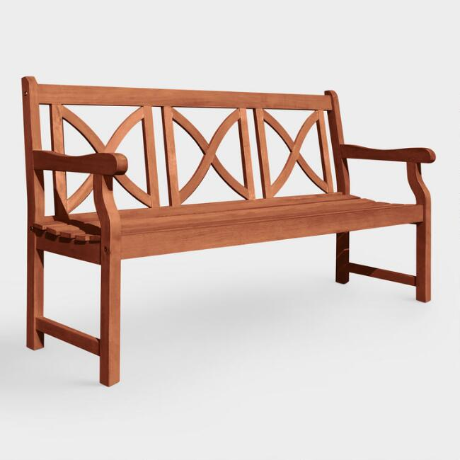 Large Greenport Garden Bench
