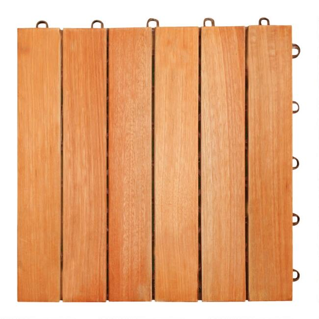 Outdoor Deck Tiles, Set of 10