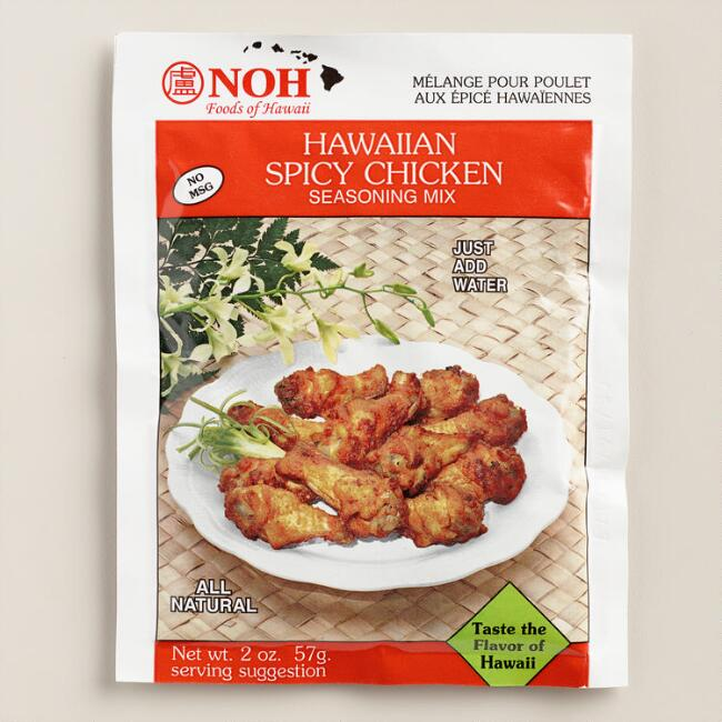 NOH Hawaiian Spicy Chicken Seasoning Mix, Set of 12