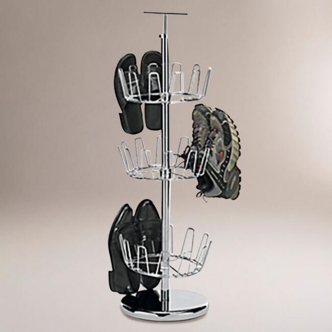 Chrome Revolving Shoe Tree