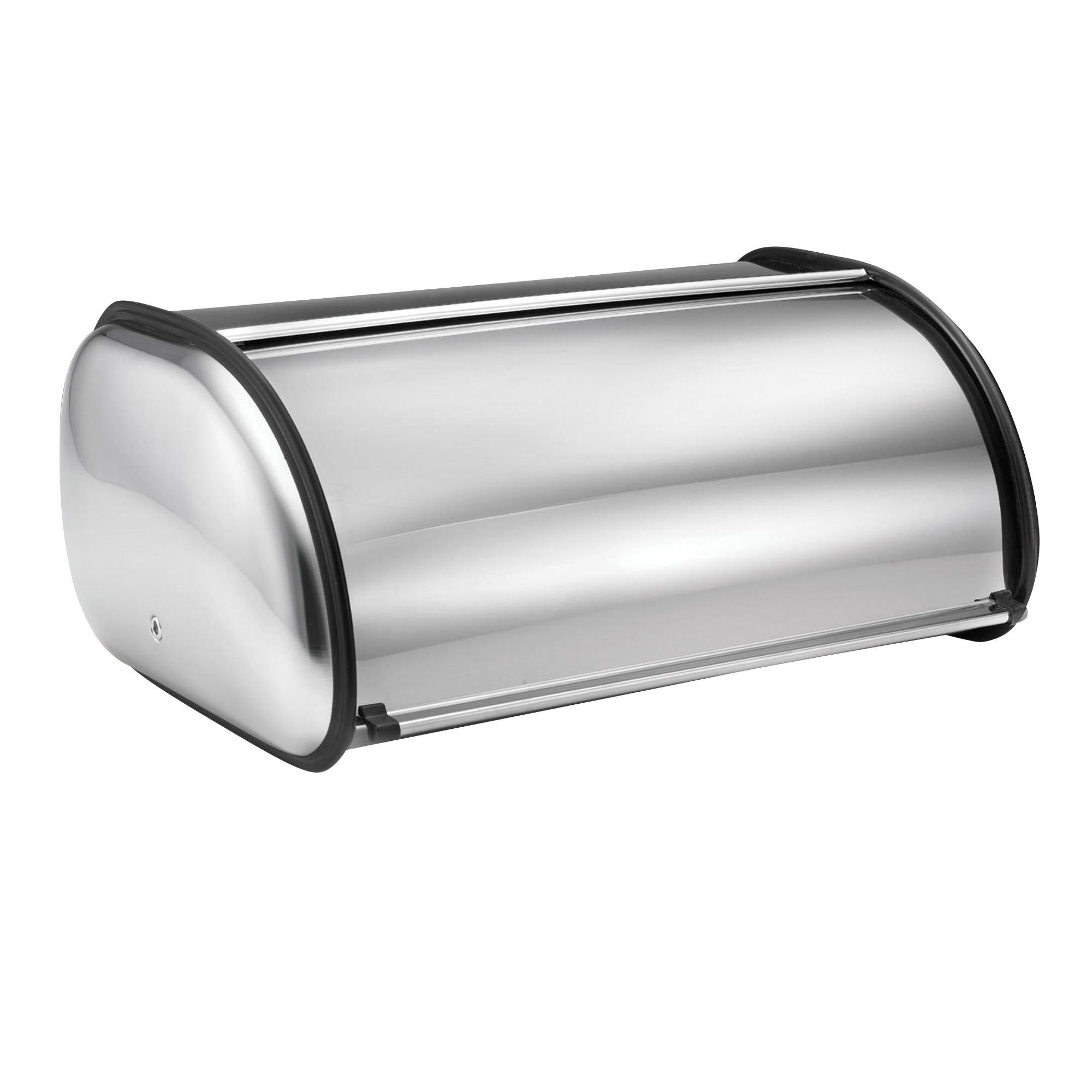 Stainless Steel Bread Bin: Silver by World Market