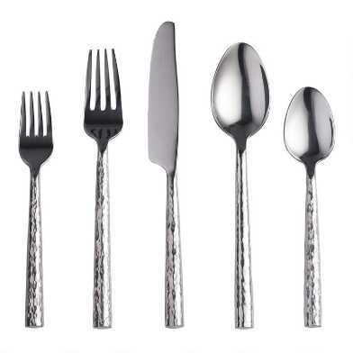 Hammered Flatware Collection
