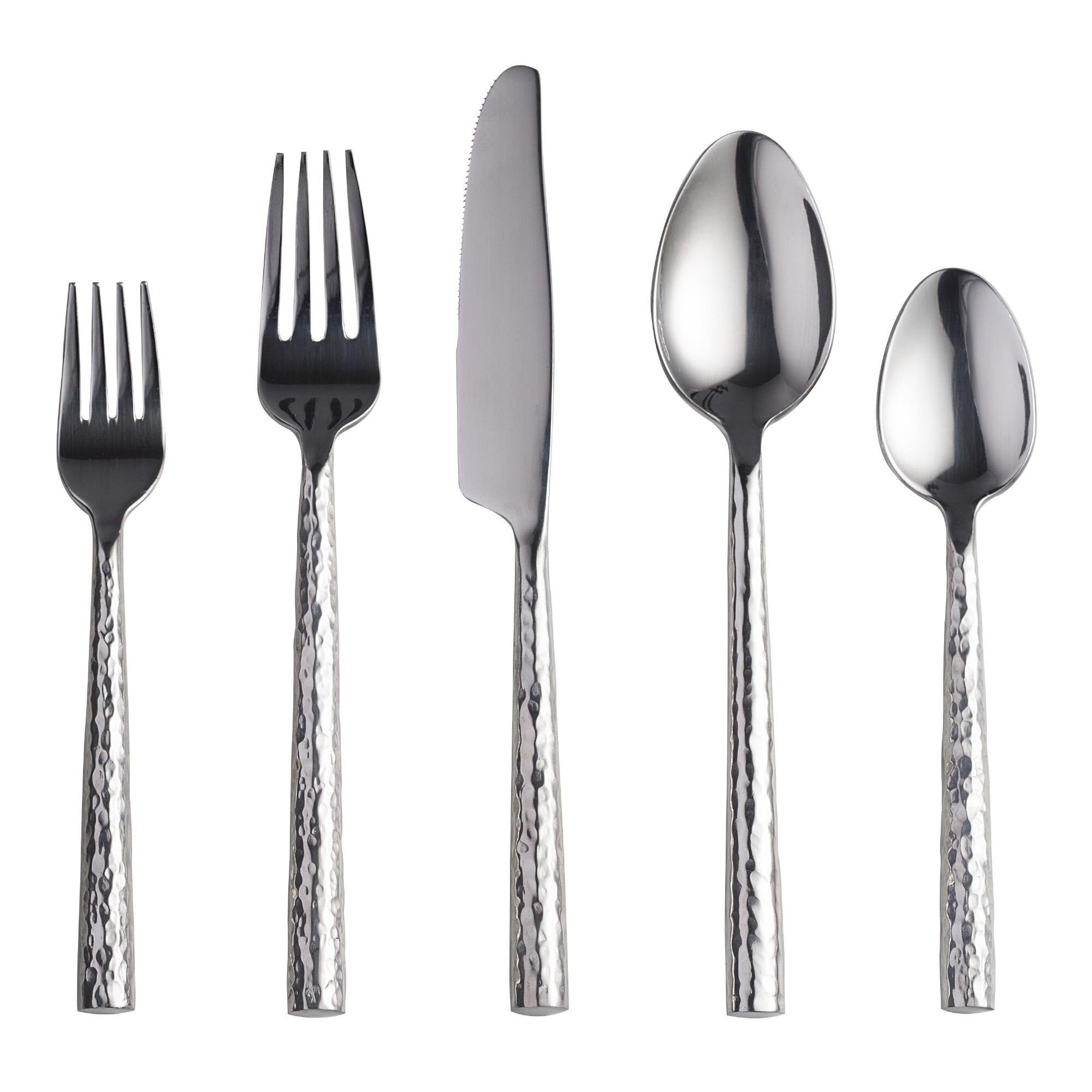 Hammered Flatware Collection by World Market
