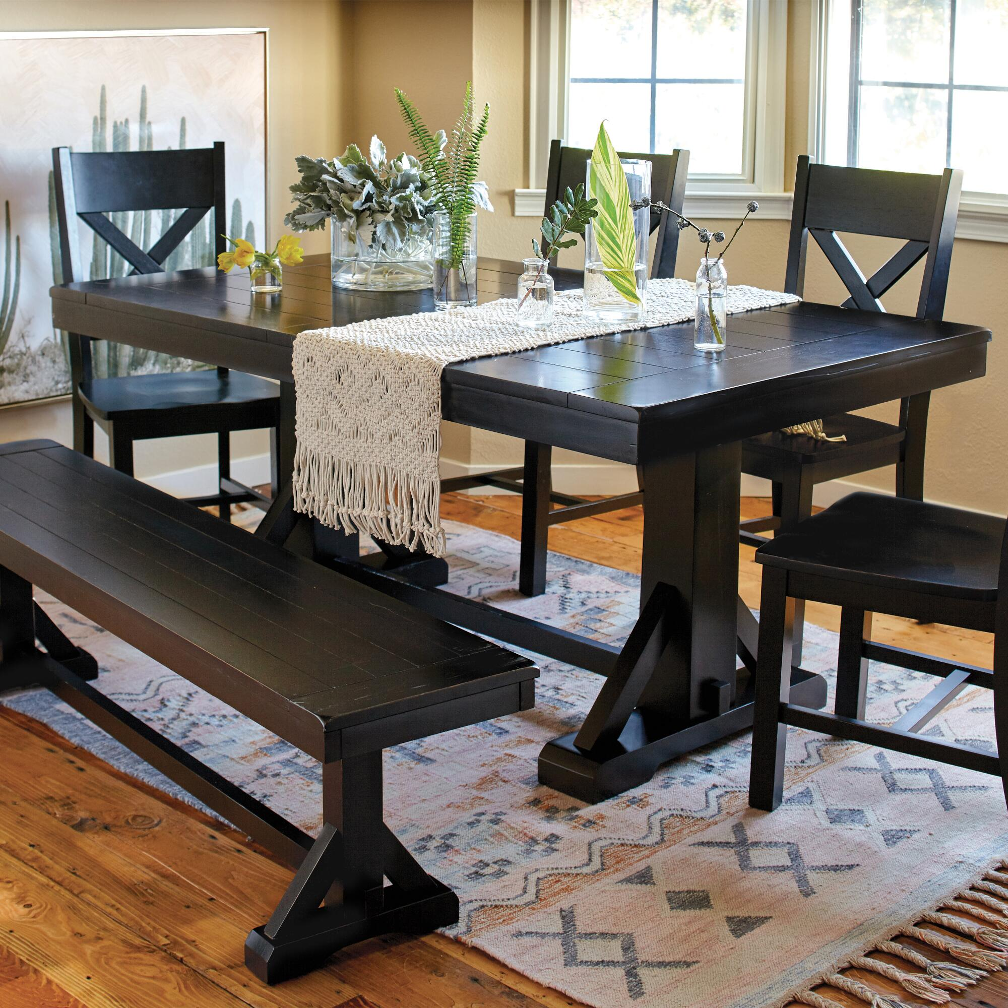 World Market Dining Room Table Bench