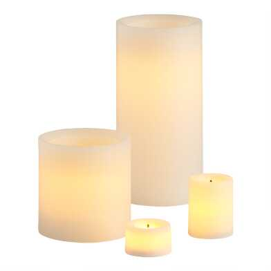 Ivory Flameless LED Candle Collection