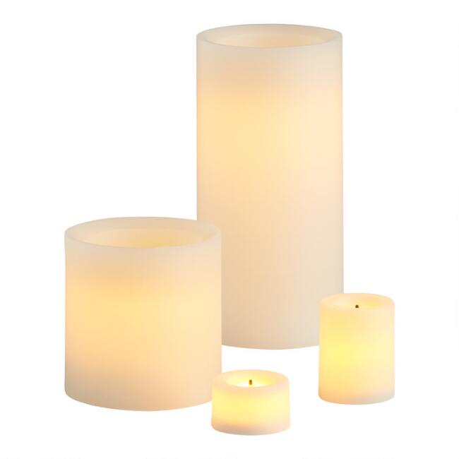 Ivory Flameless LED Candles