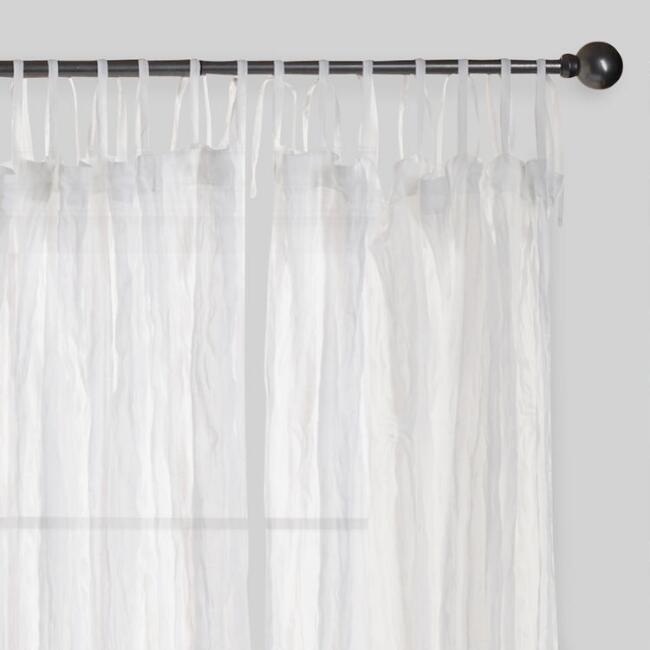 drapes tie cotton shower tab panels top textured classy pottery white curtains barn best polyester drape in curtain monogram