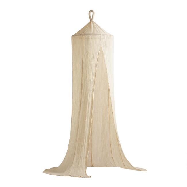 Indian Cotton Gauze Sheer Canopy