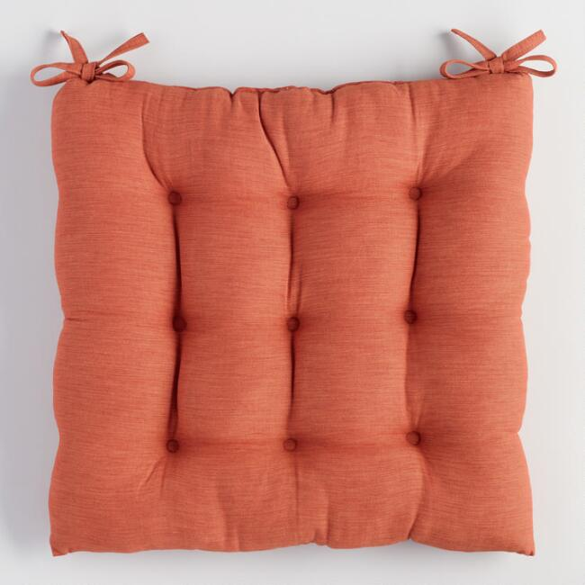 Spice Khadi Chair CushionWorld Market