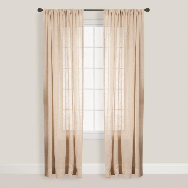 Natural Bloomfield Curtain