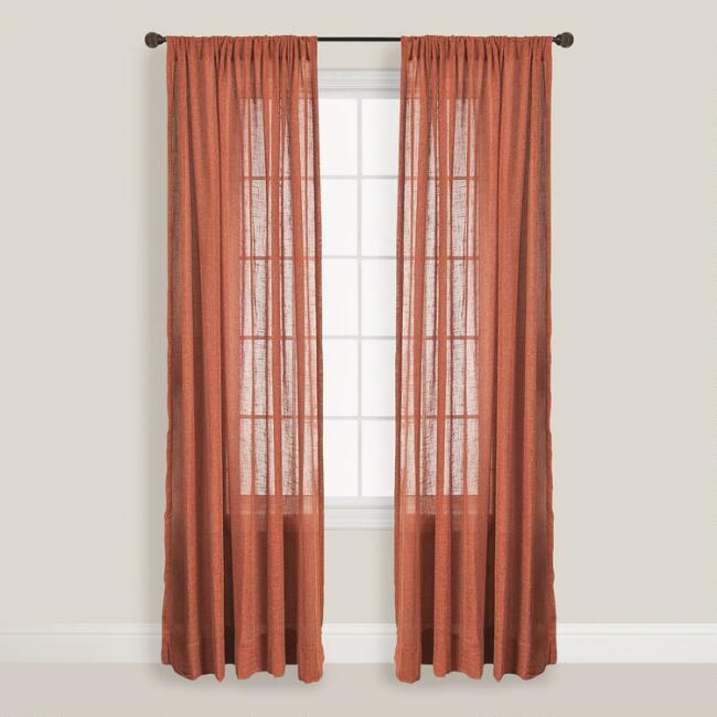 Paprika Bloomfield Curtain