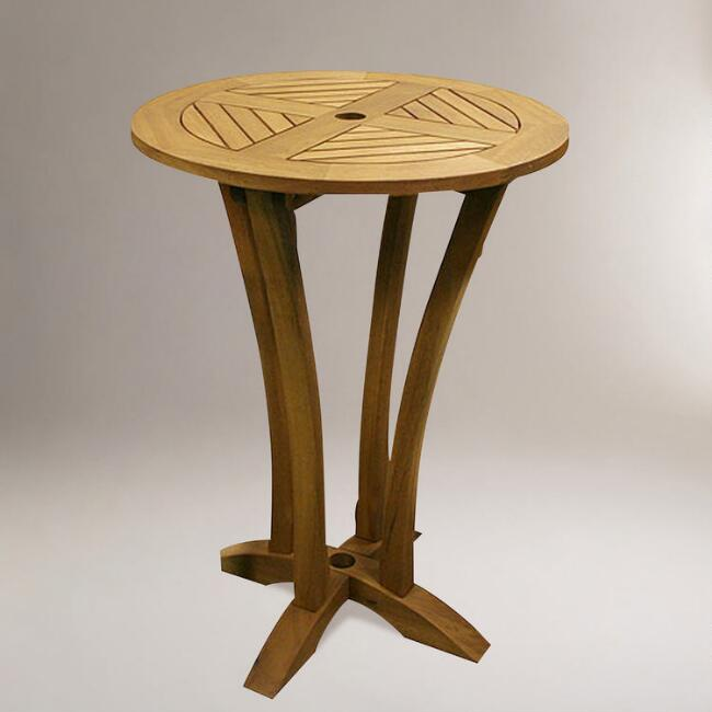 Java Round Bar Table