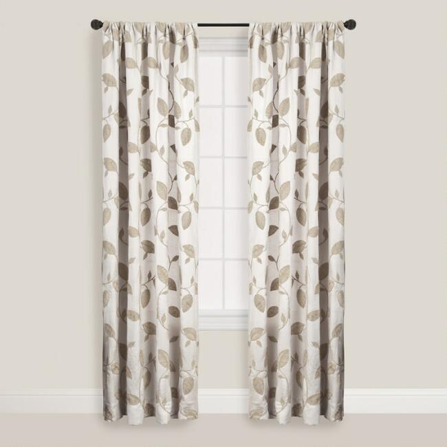 Sand Accacia Curtains