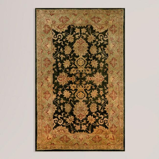 Sable Sarai Wool Rug