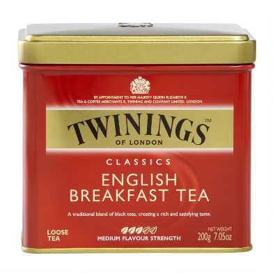 Twinings English Breakfast Loose Leaf Tea Tin