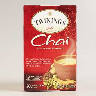 Twinings Chai Tea, Set of 6