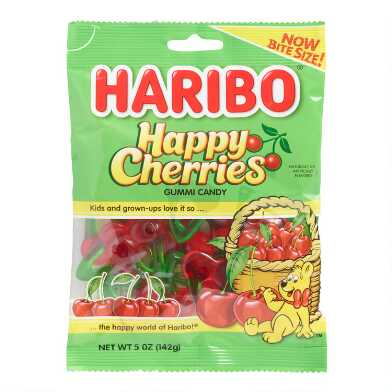 Haribo Happy Cherries Gummy Candy Set Of 12